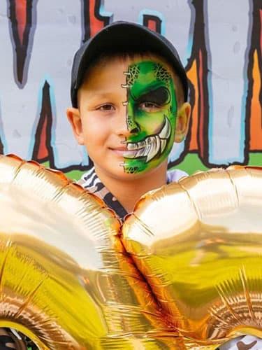 аквагример на детский праздник день рождения