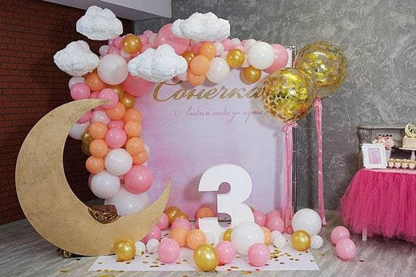 Фотозона на день рождения изготовление аренда прокат