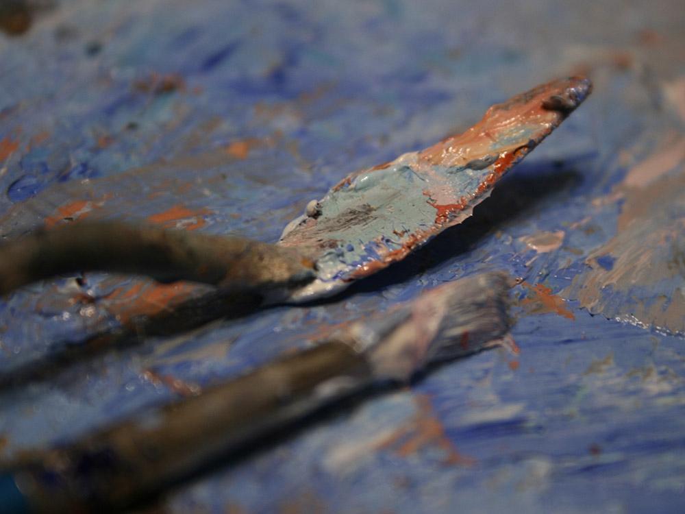 выездные мастер классы масляная живопись  фотогалерея