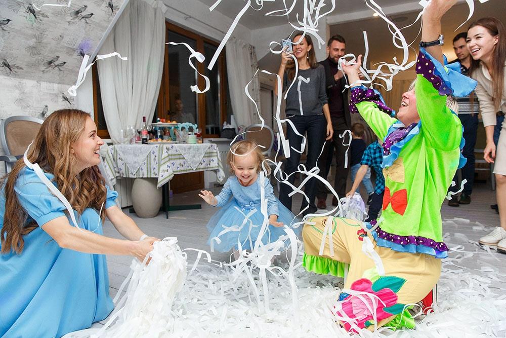 организация дня рождения ребенка фотогалерея