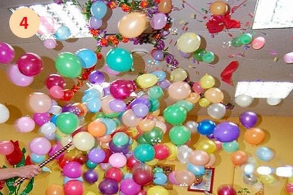 шар сюрприз на день рождения ребенка