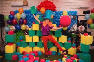 Поролоновое шоу на день рождения