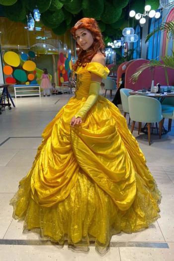 Аниматор принцесса Бель на ддень рождения