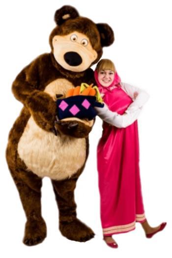 Аниматоры маша и медведь на день рождения