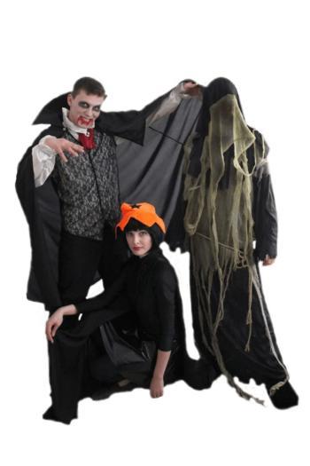 Аниматоры на Хэллоуин