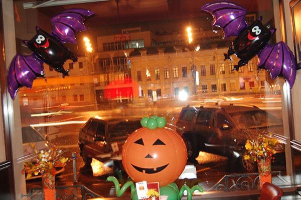 Оформление хэллоуин праздник