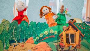 кукольный театр для малышей на выезд