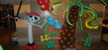 украшение шарами на день рождения