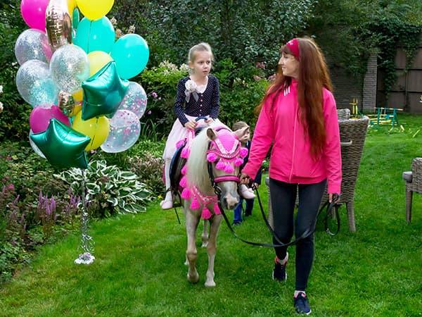 заказать пони на день рождения
