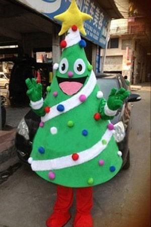 ростовая кукла елка новогодняя аренда прокат