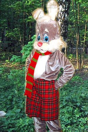 ростовая кукла заяц кролик - аренда и прокат