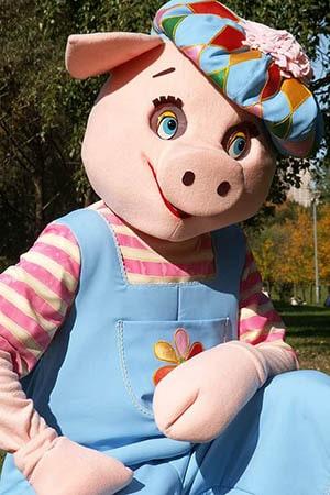 ростовая кукла свинья аренда и прокат
