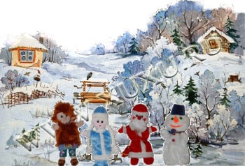 новогодний кукольный театр