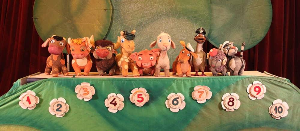 кукольные спектакли для детей от 4 лет