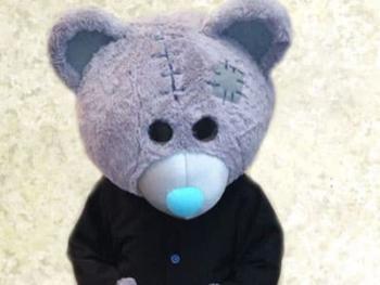 ростовая куклда teddy bear аренда, прокат