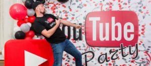 вечеринка в стиле youtube на день рождения