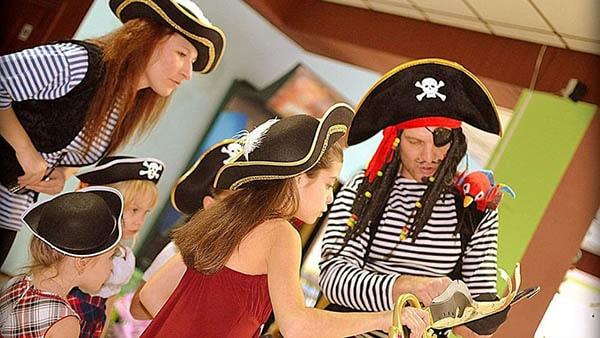 Пиратский квест на выпускной в детский сад