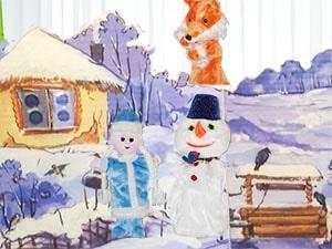 Кукольный театр на новый год. Новогодние кукольный спектакли для детей