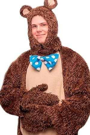 костюм аниматор медвежонок