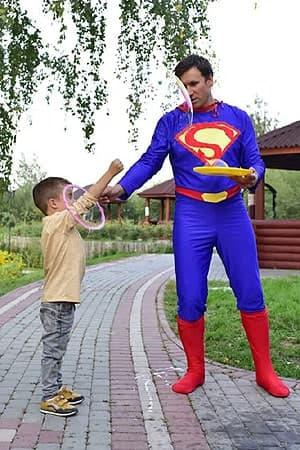 костюм Аниматора Супермен
