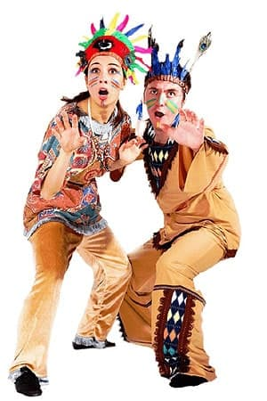 костюм Аниматоры Индейцы