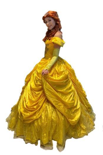 Аниматор принцесса Бель на день рождения