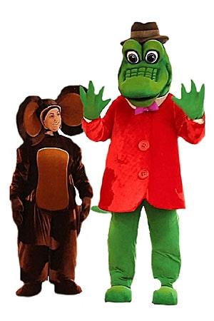 костюм Аниматора Крокодила Гены и Чебурашки