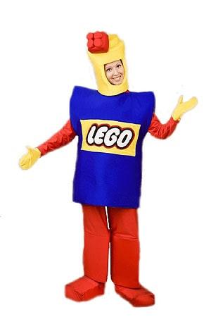 костюм Аниматора Лего