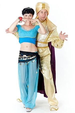 костюм Аниматоров Аладдин и пренцесса Жасмин