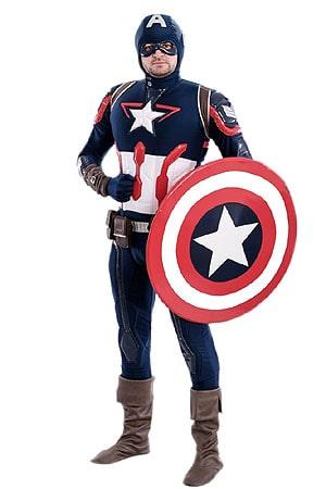костюм Аниматора Капитан Америка