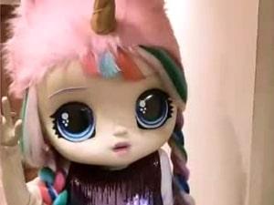 ростовая куколка на праздник для девочки