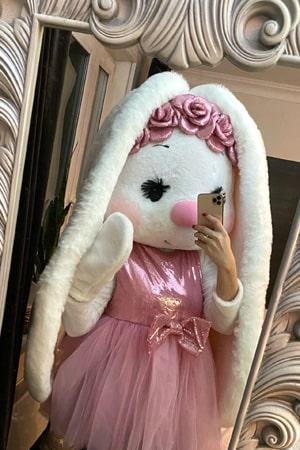 Ростовая кукла заяц девочка аренда и прокат