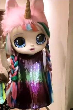 ростовая куколка на кукольный праздник для девочки
